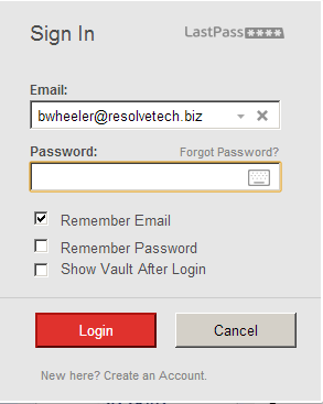 Making Passwords Easy with LastPass - IT Services Support ...